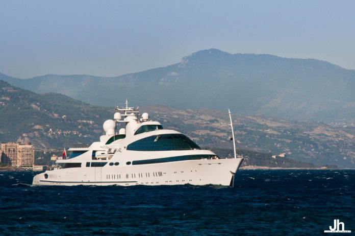 Incredible 141m 'Yas' Superyacht