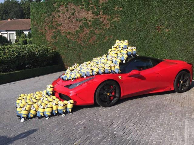 Team Minions Ferrari 458 Speciale