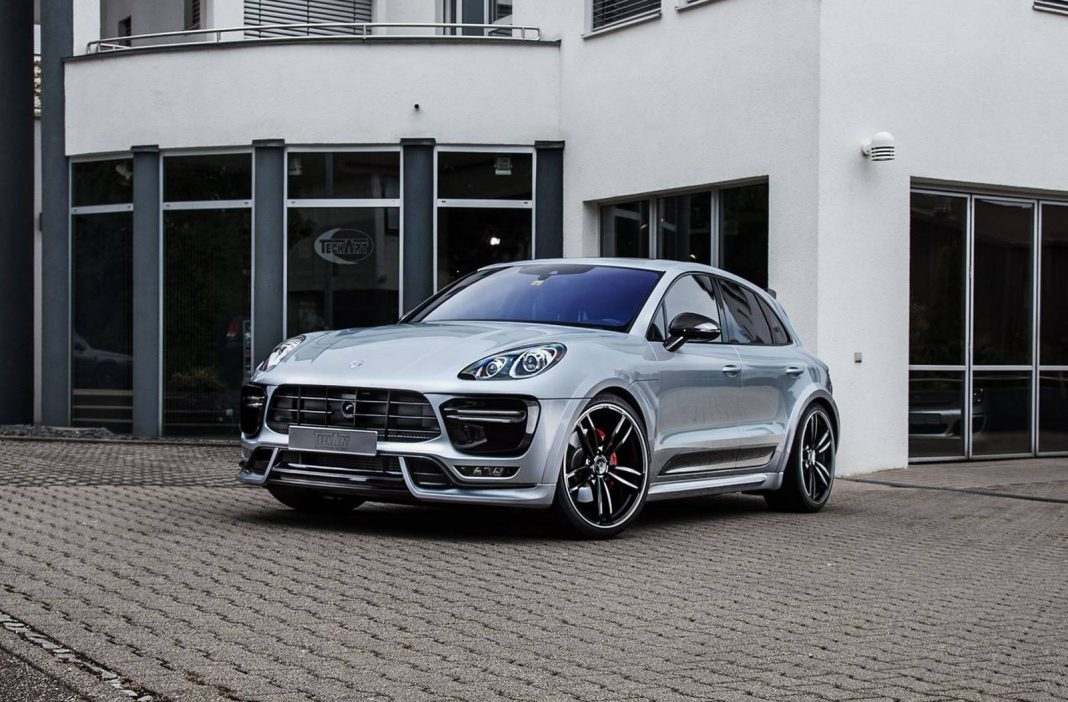 Techart Porsche Macan front