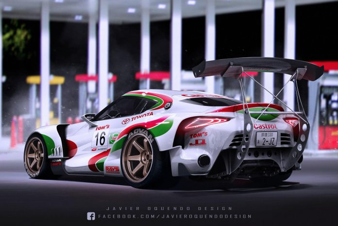 Aggressive Toyota FT-1 Super GT Comes to Life!