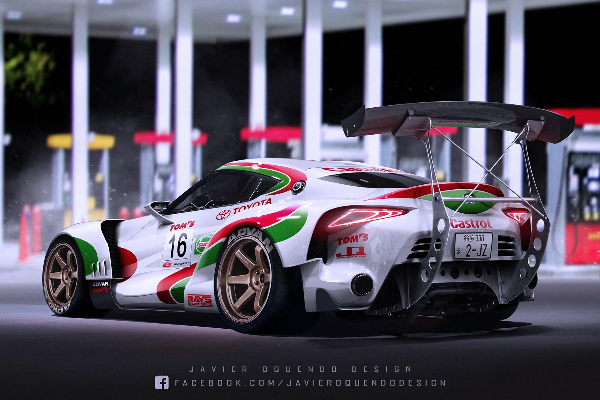 Toyota Ft 1 >> Ini Yang Terlihat Jika Toyota Ft 1 Concept Turun Di Balap