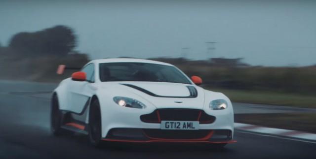 Chris Harris drives Aston Martin Vantage GT12