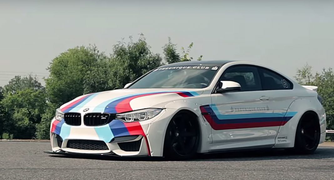 Video Liberty Walk Bmw M4 Is Seriously Insane Gtspirit