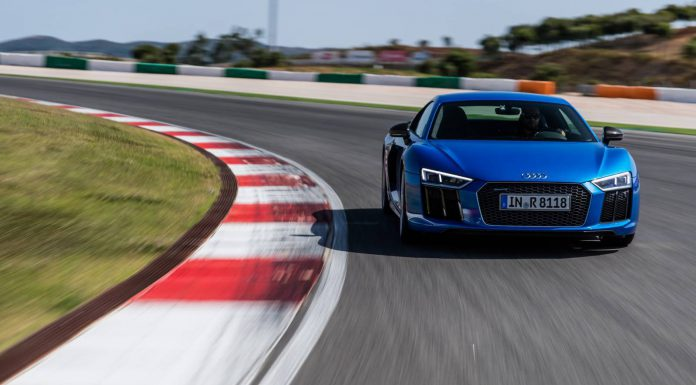 2016 Audi R8 V10 Plus on road and track