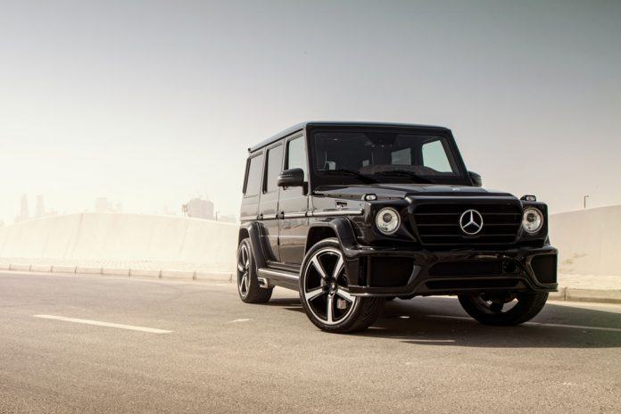 Ares Performance Mercedes-Benz G63 AMG front