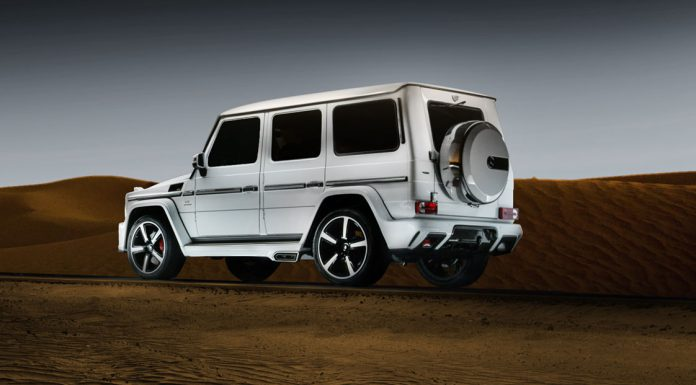 Ares Performance Mercedes-Benz G63 AMG rear