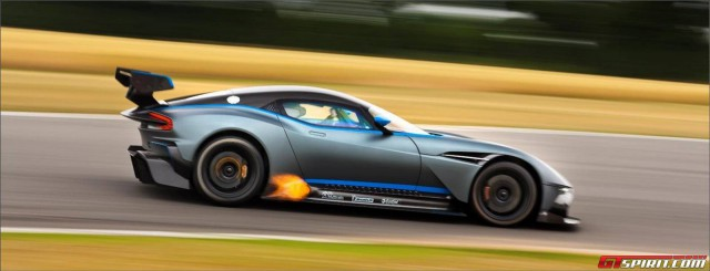 First Impression: Aston Martin Vulcan action shot
