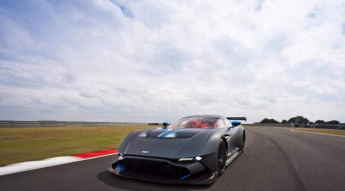 First Impression: Aston Martin Vulcan track shot