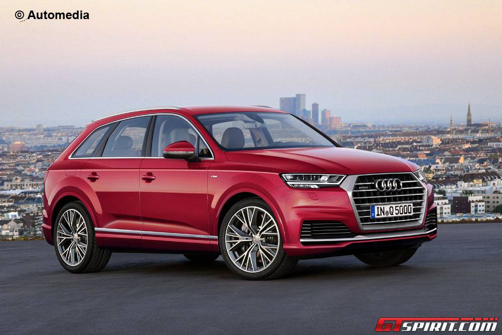 next generation audi q5 imagined gtspirit. Black Bedroom Furniture Sets. Home Design Ideas