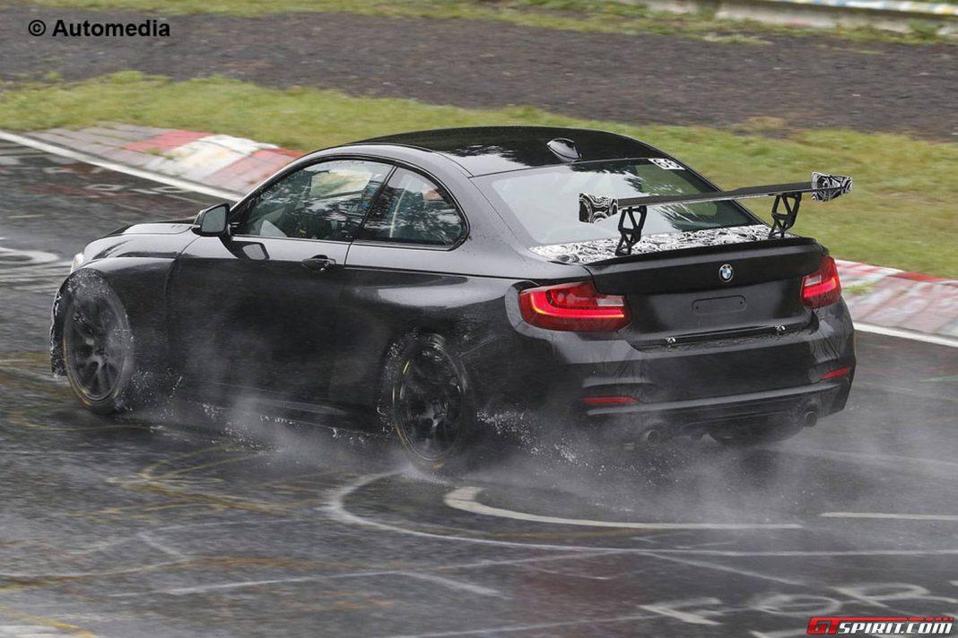 Updated BMW 235i Cup Spy Shots Emerge