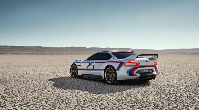 BMW 3.0 CSL Hommage R Concept rear