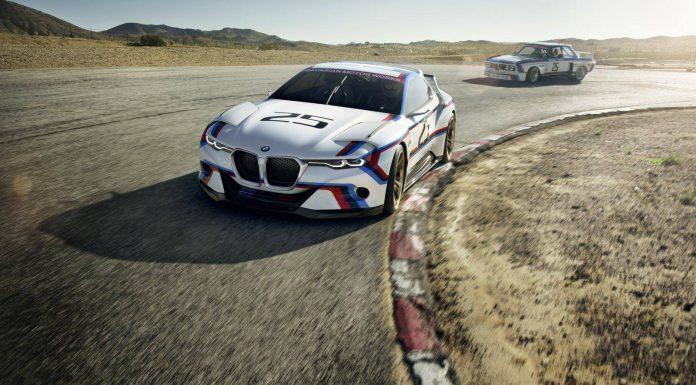 BMW 3.0 CSL Hommage R Concept front