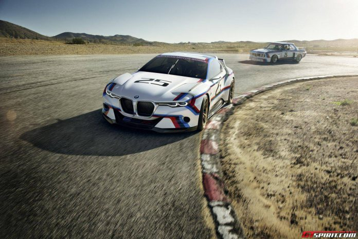 BMW 3.0 CSL Hommage R Concept front