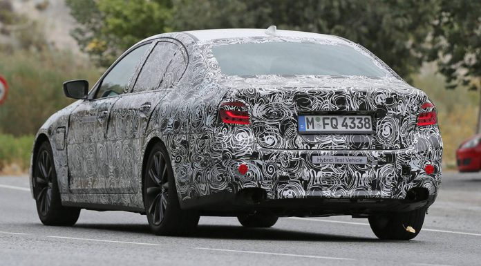 New BMW 5-Series Spy Shots Reveal Production Light Clusters