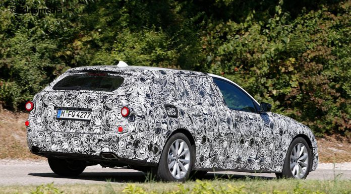First Spy Shots of the Next-Gen BMW 5-Series Touring