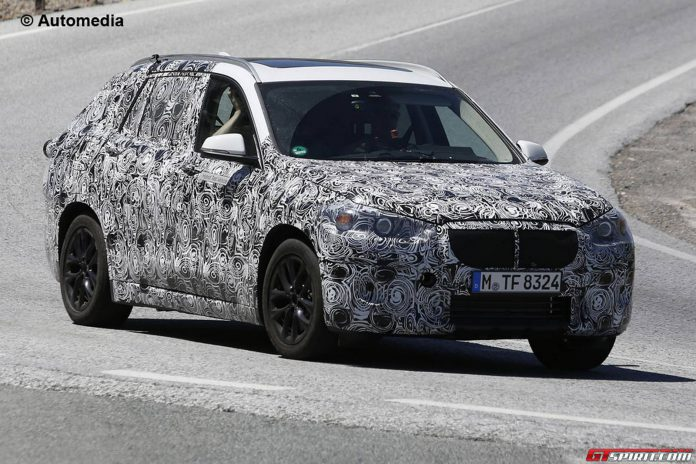 BMW FAST Spy Shots