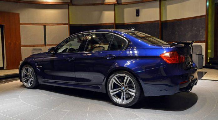 BMW Individual M3 side