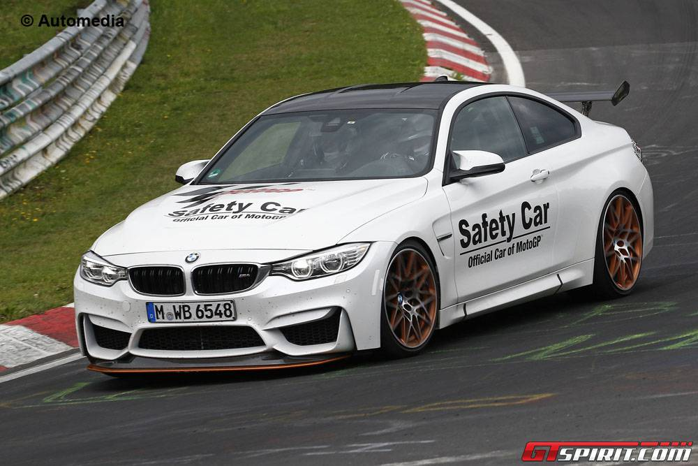 BMW M4 GTS spy shots front
