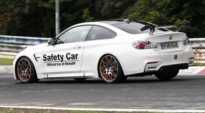 BMW M4 GTS spy shots rear