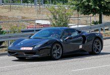 Ferrari Dino spy shots