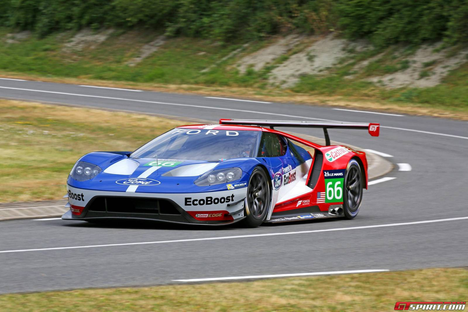 Video 2016 Ford GT GTE Shakedown Test