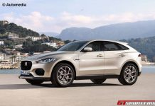 Jaguar E-Pace rendered