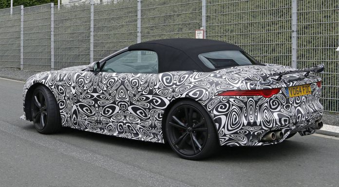 First Spy Shots of the Jaguar F-Type RS