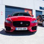 Jaguar XF S Front view