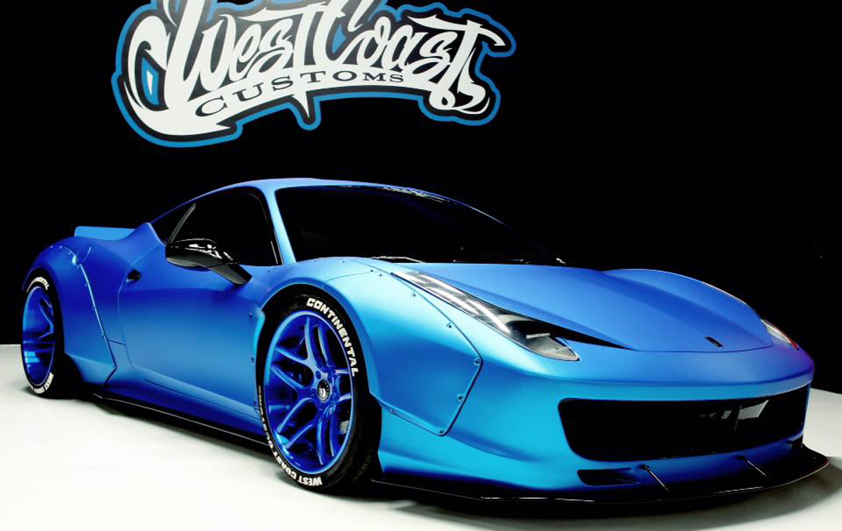 Justin Bieber S Ferrari 458 Italia Gets Liberty Walk Transformation Gtspirit