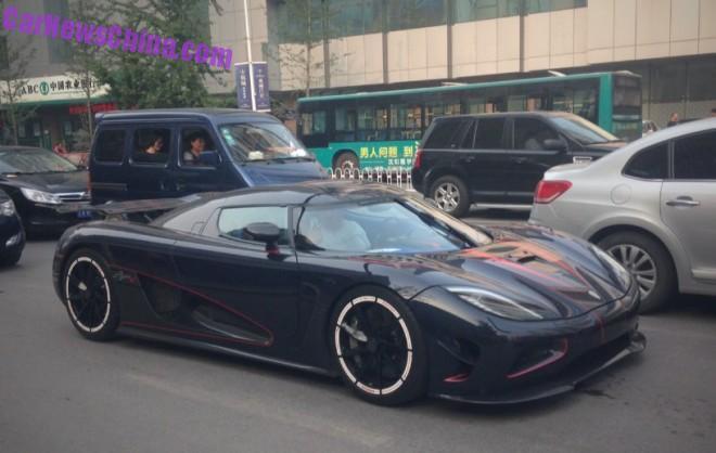 Koenigsegg Agera R BLT in China front