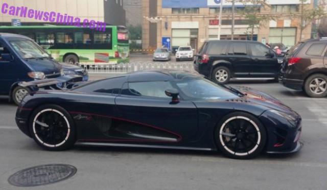 Koenigsegg Agera R BLT in China side