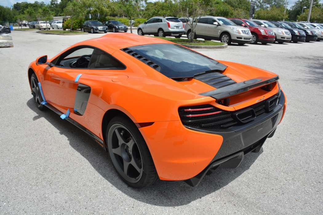 unique tarocco orange mclaren 650s le mans arrives in the u s gtspirit. Black Bedroom Furniture Sets. Home Design Ideas