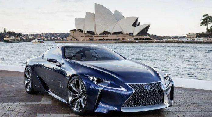 Lexus Working on New Flagship