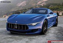 Production-Spec Maserati Alfieri Rendered