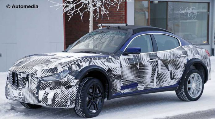 Maserati Levante pre-production starts