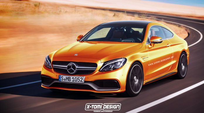 Mercedes-AMG C63 Coupe Rendered