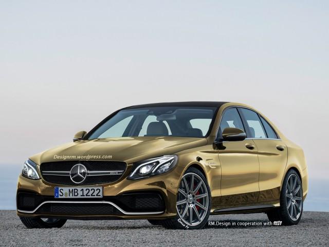 Next-gen Mercedes-AMG E63 rendered