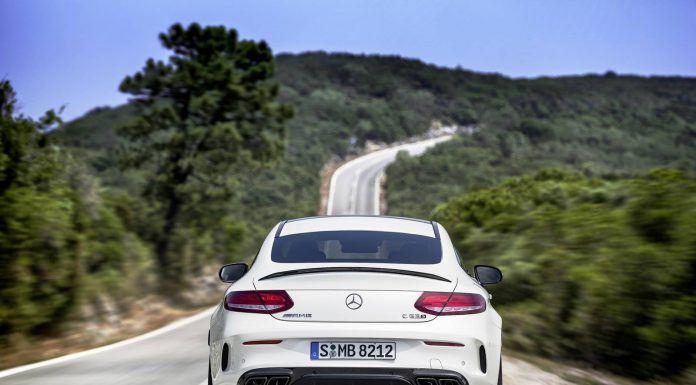 2016 Mercedes-AMG C63 Coupe rear