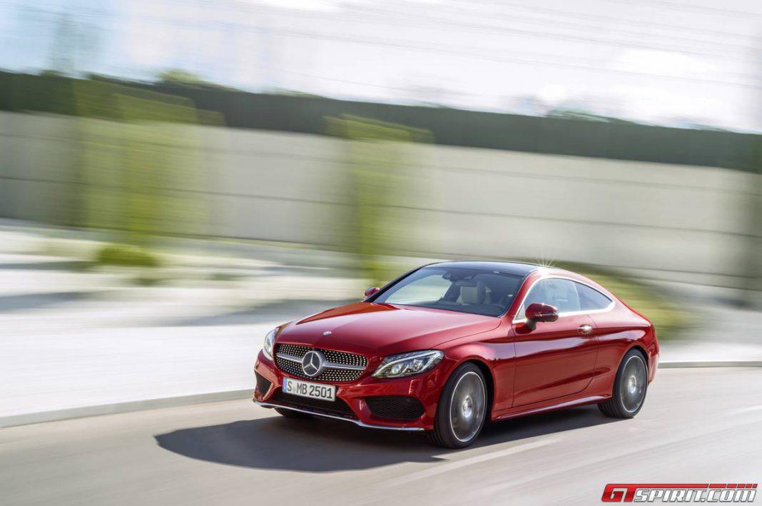 Mercedes-Benz C-Class Coupe front
