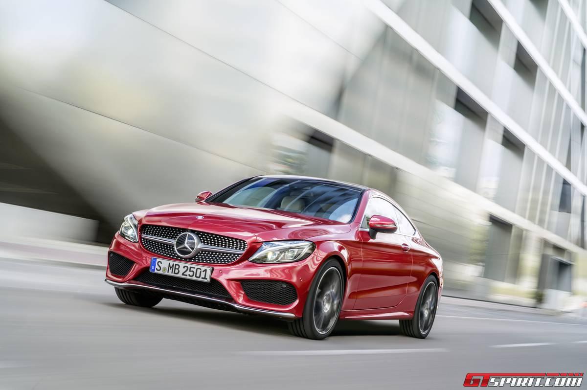 Mercedes-Benz C-Class Coupe euro