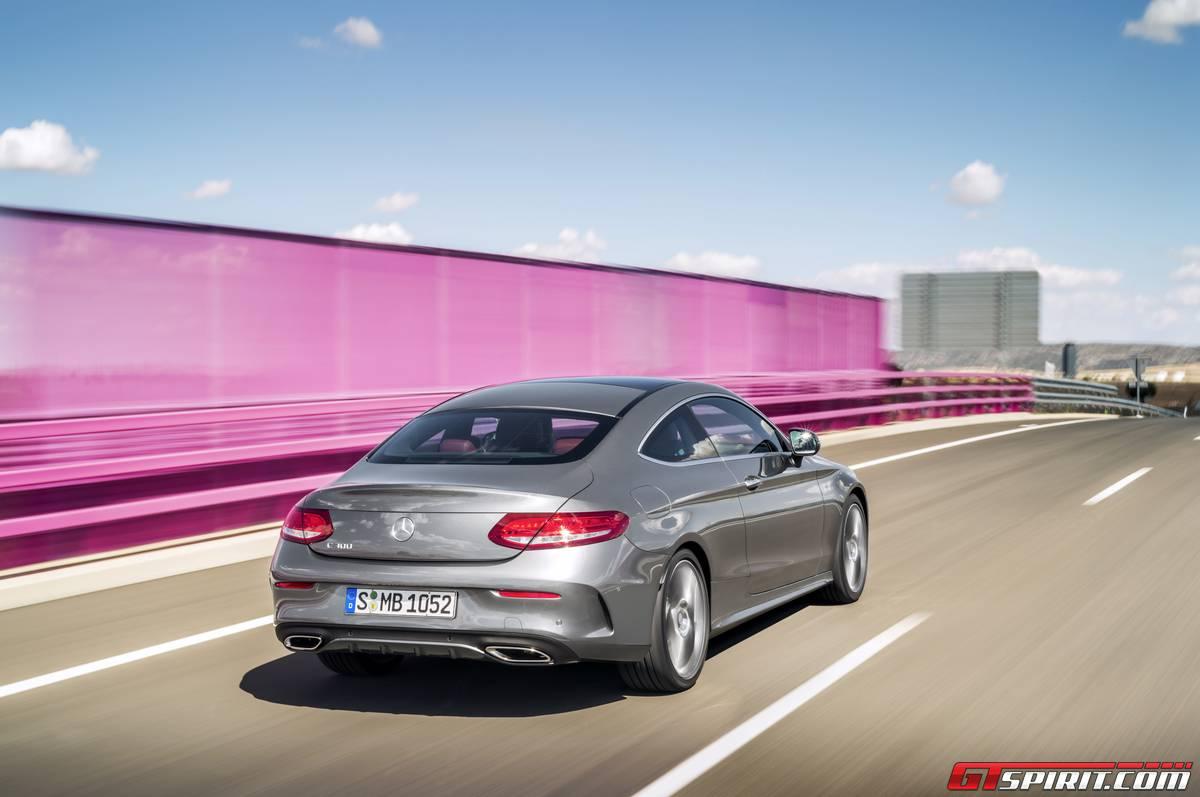 Mercedes-Benz C-Class Coupe rear