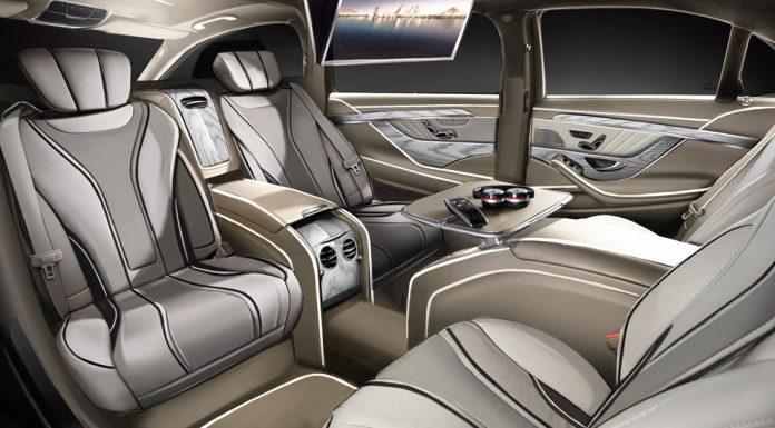 Ares Design Mercedes-Benz S-Class interior