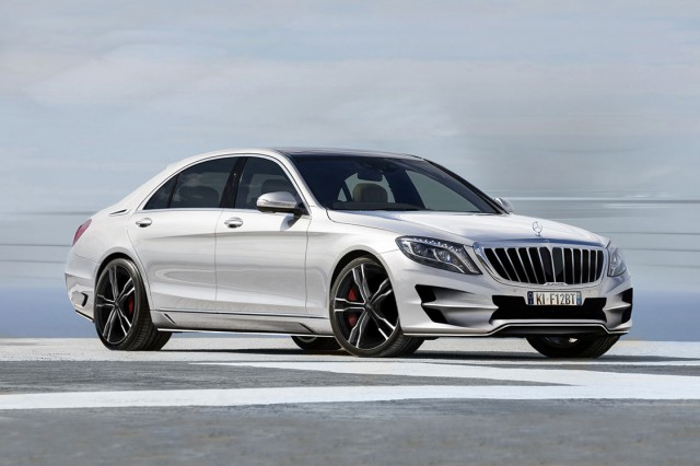 Ares Design Mercedes-Benz S-Class front