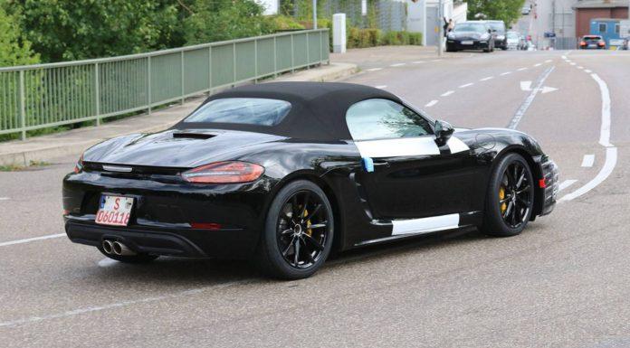 More Porsche Boxster Facelift Spy Shots Emerge