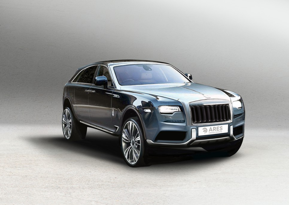 could the rolls royce suv look like this gtspirit. Black Bedroom Furniture Sets. Home Design Ideas