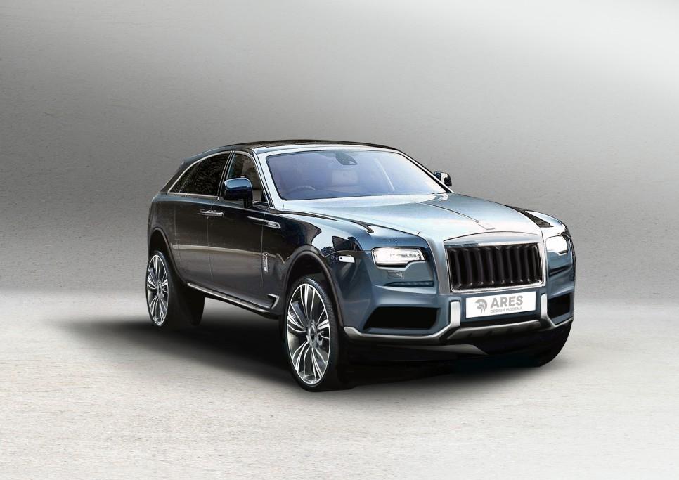 Rolls-Royce SUV front