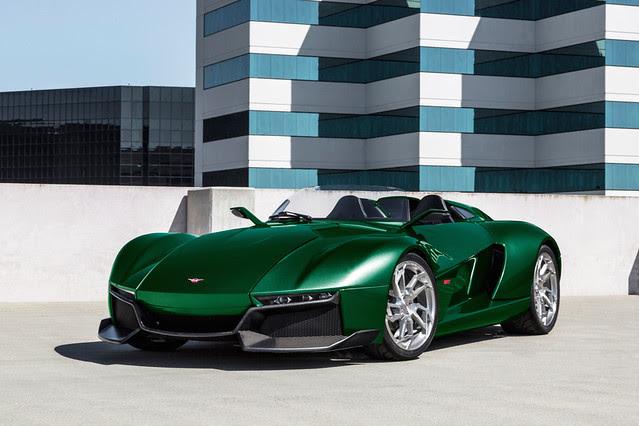 Green Rezvani Beast