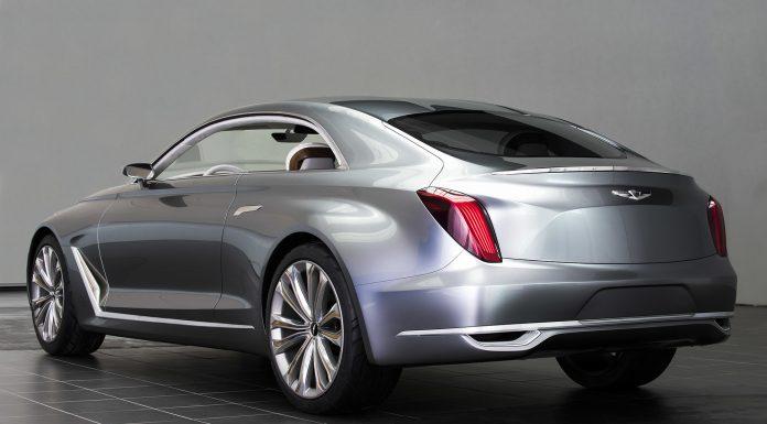 Hyundai Vision G Coupe Concept rear
