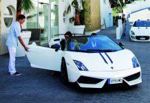 Portals Hills Boutique Hotel Provides Lamborghini Gallardo to Guests