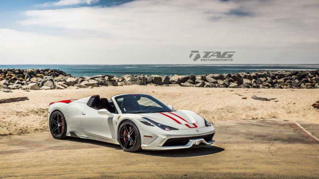 Ferrari 458 Speciale A with HRE Wheels